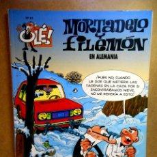 Cómics: MORTADELO Y FILEMÓN Nº 91 : EN ALEMANIA. Lote 211759247