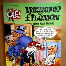Cómics: MORTADELO Y FILEMÓN Nº 101 : EL PLANO DE ALÍ-GUSA-NO. Lote 211759472