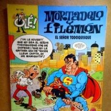 Cómics: MORTADELO Y FILEMÓN Nº 122 : EL SEÑOR TODOQUISQUE. Lote 211759668