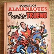 Cómics: TODOS LOS ALMANAQUES EL CAPITAN TRUENO - EDICIONES B - TAPA DURA (CONTIENEN LAS CUBIERTAS) - GCH1. Lote 211768645