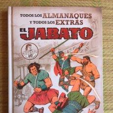 Cómics: TODOS LOS ALMANAQUES Y EXTRAS EL JABATO - EDICIONES B - TAPA DURA (CONTIENEN LAS CUBIERTAS) - GCH1. Lote 211768735