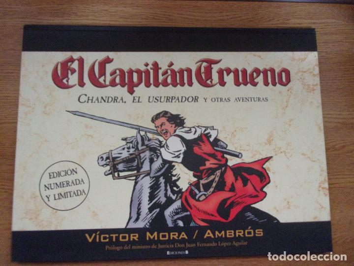 EL CAPITAN TRUENO - CHANDRA EL USURPADOR Y OTRAS AVENTURAS. EDICIÓN NUMERADA Y LIMITADA. (Tebeos y Comics - Ediciones B - Clásicos Españoles)