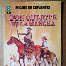 Cómics: DON QUIJOTE DE LA MANCHA/GRANDES AVENTURAS EN CÓMIC COLOR N°3 (EDICIONES B), POR MIGUEL DE CERVANTES. Lote 212096218