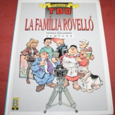 Cómics: LA FAMÍLIA ROVELLÓ - PÉREZ NAVARRO/SEMPERE - EDICIONES B - 1990 - EN CATALÁN. Lote 212216221