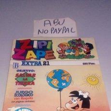 Cómics: ZIPI ZAPE EXTRA 21 EDICIONES B VER FOTOS CORTE ESQUINA SUPERIOR. Lote 212218666