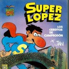 Fumetti: JAN - OLE SUPERLOPEZ SUPER LOPEZ Nº 16 - LOS CERDITOS DE CAMPRODON - EDICIONES B 1990 1ª EDICION. Lote 212399125