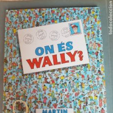 Cómics: PRIMERA EDICIÓN 1988 ON ES WALLY ? MARTÍN HANDFORD EDICIONES B S. A. PER A WALLY EN CATALÁN. Lote 212405625