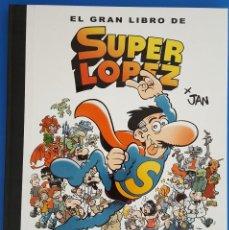 Comics: LIBRO / EL GRAN LIBRO DE SUPER LOPEZ X JAN / ANTONI GUIRAL / BRUGUERA 1ª EDICIÓN NOVIEMBRE 2018. Lote 212541386