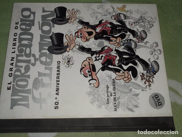 EL GRAN LIBRO DE MORTADELO Y FILEMÓN 50º ANIVERSARIO EDICIONES B (Tebeos y Comics - Ediciones B - Clásicos Españoles)