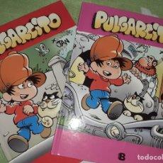 Cómics: PULGARCITO EDICIONES B JAN TOMOS 1 Y 2 (DE 6). Lote 212553377