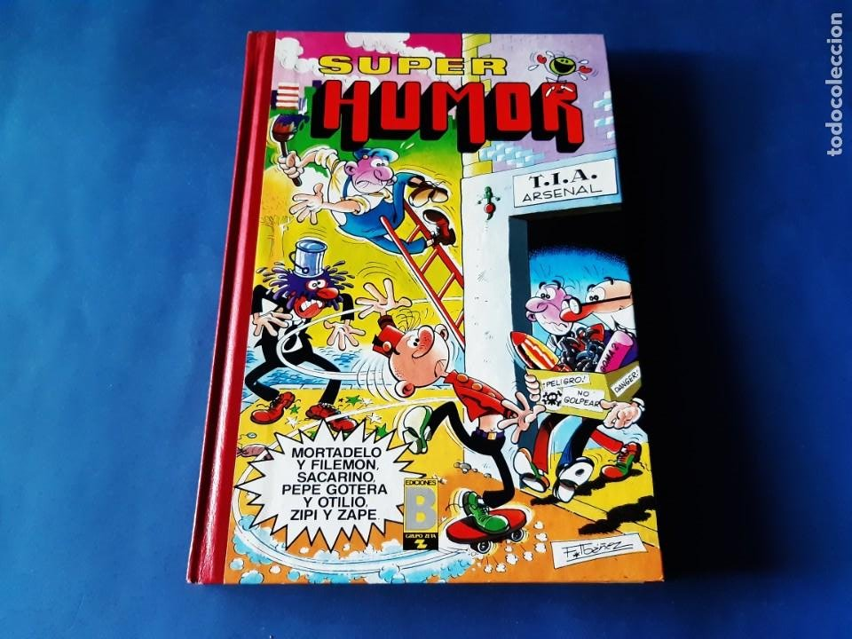 Cómics: SUPER HUMOR Nº 23 -2ª EDICION-AÑO 1990-IMPECABLE ESTADO - Foto 1 - 212666352