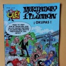 Comics: MORTADELO Y FILEMÓN. ¡OKUPAS! OLÉ! Nº 160 - FRANCISCO IBÁÑEZ. Lote 212780478