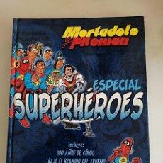 Comics : MORTADELO Y FILEMON ESPECIAL SUPERHEROES EDCIONES B. Lote 212892620