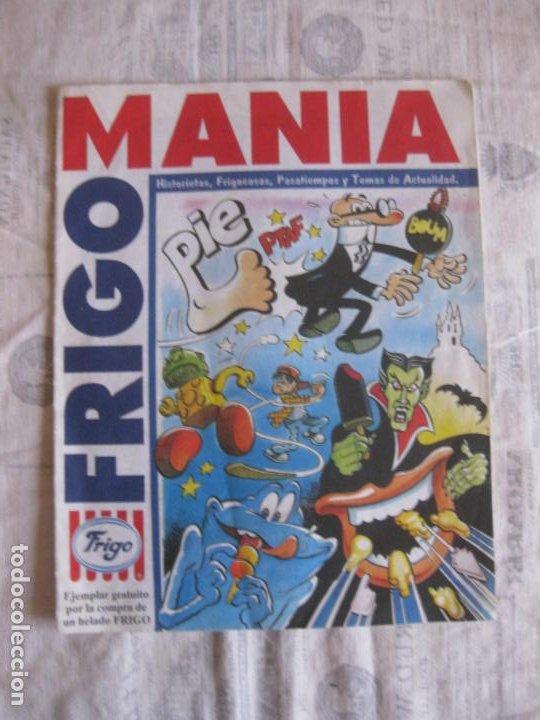 FRIGO MANIA. HISTORIETAS ( MORTADELO) , FRIGOCOSAS, PASATIEMPOS Y TEMAS DE ACTUALIDAD. ED. B 1995 (Tebeos y Comics - Ediciones B - Otros)
