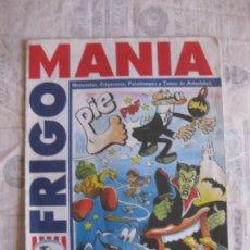 Cómics: FRIGO MANIA. HISTORIETAS ( MORTADELO) , FRIGOCOSAS, PASATIEMPOS Y TEMAS DE ACTUALIDAD. ED. B 1995. Lote 213011847