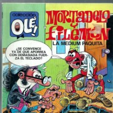 Comics: OLE Nº 320-M.73 - MORTADELO Y FILEMON - LA MEDIUM PAQUITA - EDICIONES B 1988 1ª EDICION ABSOLUTA. Lote 213024568