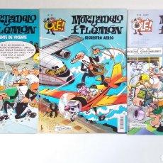 Cómics: LOTE DE TRES COMICS DE MORTADELO Y FILEMON.. Lote 213132170
