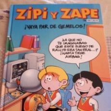 Cómics: CÓMIC MAGOS DEL HUMOR ZIPI Y ZAPE N°1 VAYA PAR DE GEMELOS!. EDICIONES B. AÑO 2000. Lote 213261413