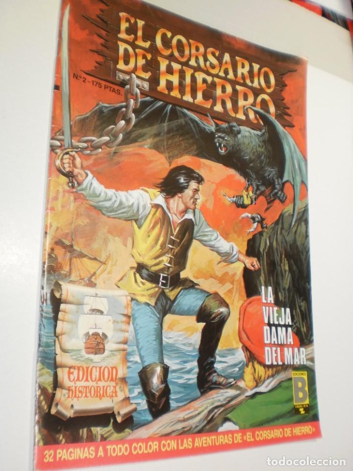 EL CORSARIO DE HIERRO Nº 2. 1987 LA VIEJA DAMA DEL MAR (SEMINUEVO) (Tebeos y Comics - Ediciones B - Otros)