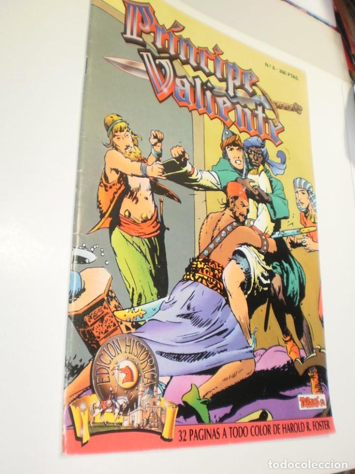 EL PRÍNCIPE VALIENTE Nº 8. 1988 (BUEN ESTADO) (Tebeos y Comics - Ediciones B - Otros)