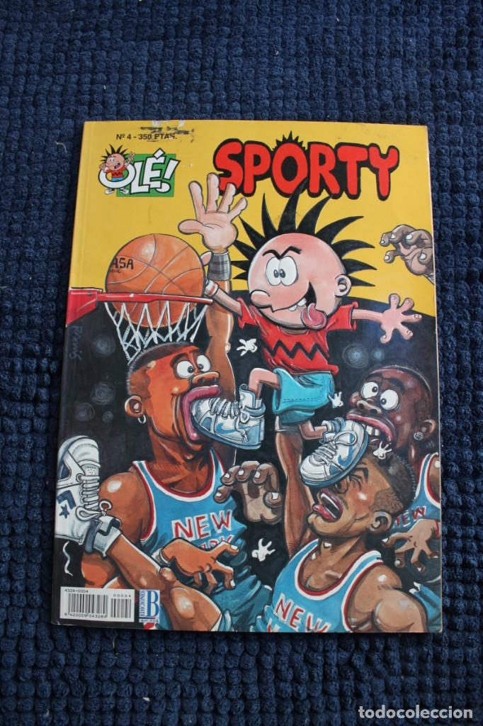 Cómics: OLE Nº 4 SPORTY: PORTADA EN RELIEVE - Foto 1 - 213497445