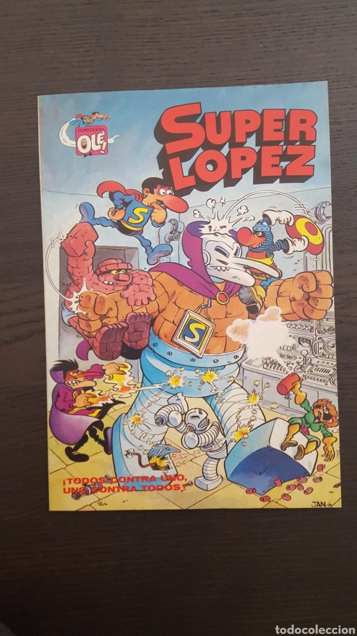 Cómics: Lote SuperLopez (Super Lopez) 1 al 19 - Bruguera y Ediciones B - La mayoria 1ª edicion - Col. Ole - Foto 9 - 213540887