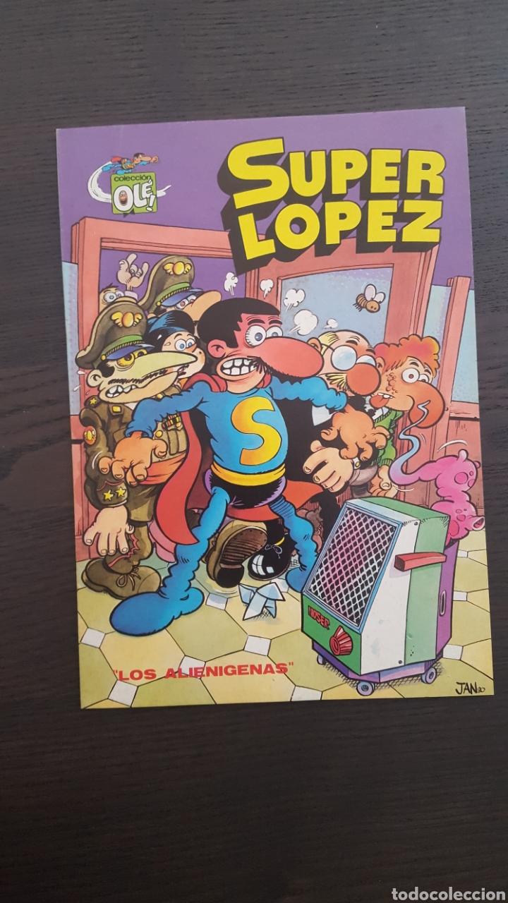 Cómics: Lote SuperLopez (Super Lopez) 1 al 19 - Bruguera y Ediciones B - La mayoria 1ª edicion - Col. Ole - Foto 11 - 213540887
