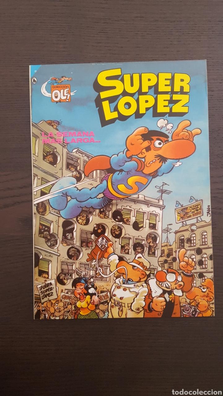 Cómics: Lote SuperLopez (Super Lopez) 1 al 19 - Bruguera y Ediciones B - La mayoria 1ª edicion - Col. Ole - Foto 15 - 213540887