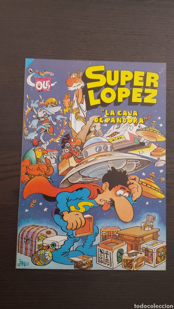 Cómics: Lote SuperLopez (Super Lopez) 1 al 19 - Bruguera y Ediciones B - La mayoria 1ª edicion - Col. Ole - Foto 19 - 213540887