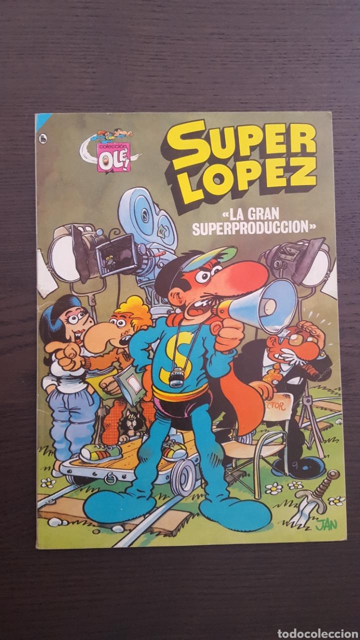 Cómics: Lote SuperLopez (Super Lopez) 1 al 19 - Bruguera y Ediciones B - La mayoria 1ª edicion - Col. Ole - Foto 21 - 213540887