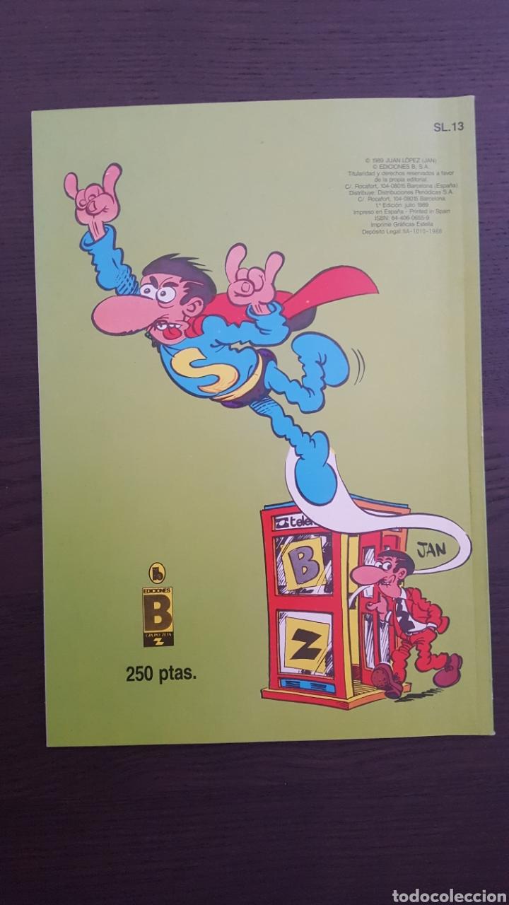Cómics: Lote SuperLopez (Super Lopez) 1 al 19 - Bruguera y Ediciones B - La mayoria 1ª edicion - Col. Ole - Foto 30 - 213540887