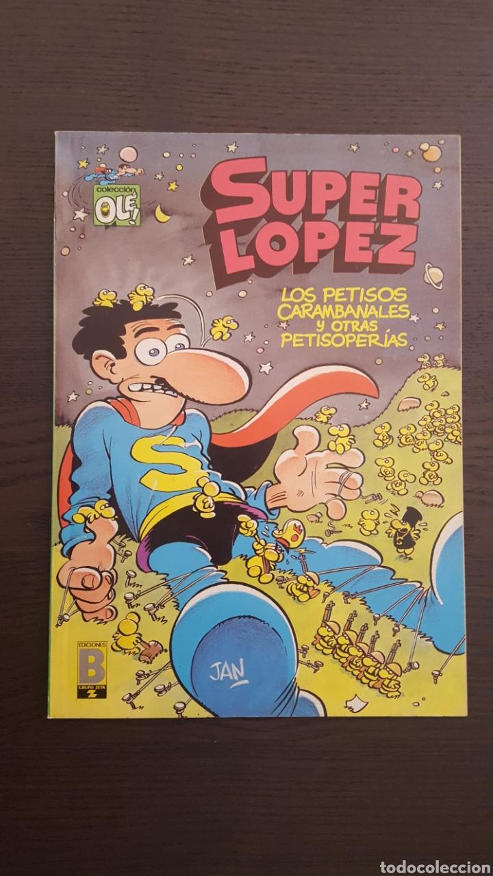 Cómics: Lote SuperLopez (Super Lopez) 1 al 19 - Bruguera y Ediciones B - La mayoria 1ª edicion - Col. Ole - Foto 33 - 213540887