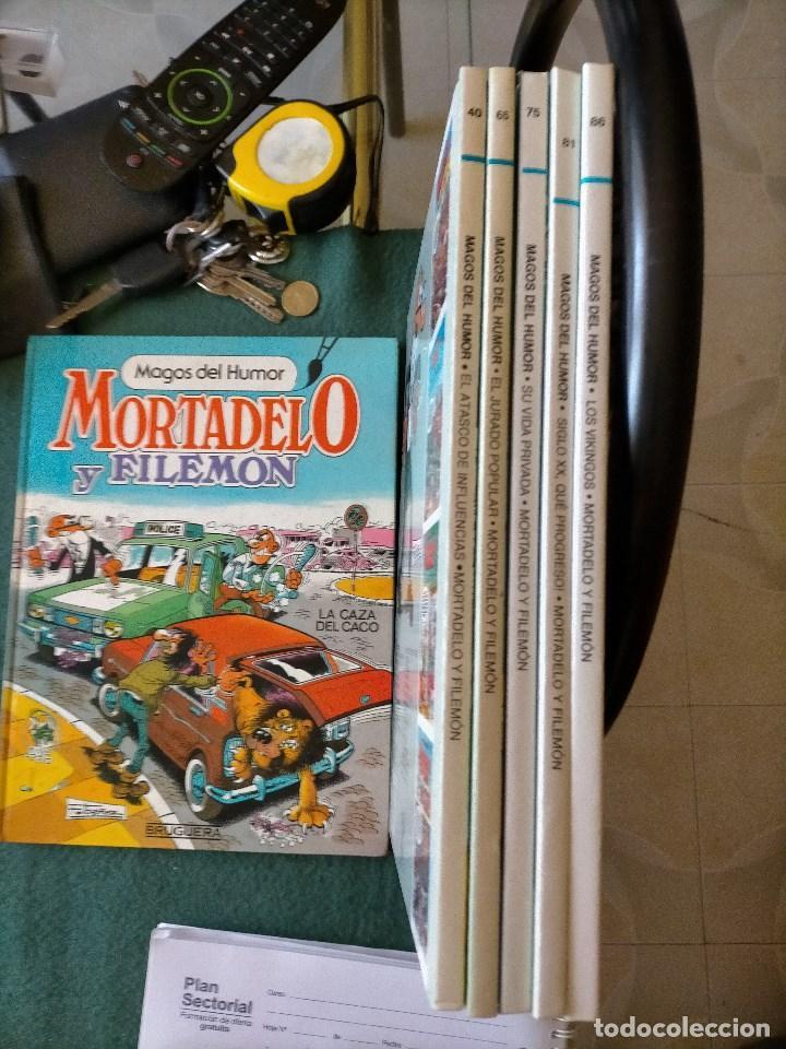 MAGOS DEL HUMOR. 5 TOMOS, VARIOS 1ª EDICIÓN. MORTADELO Y FILEMÓN (Tebeos y Comics - Ediciones B - Humor)