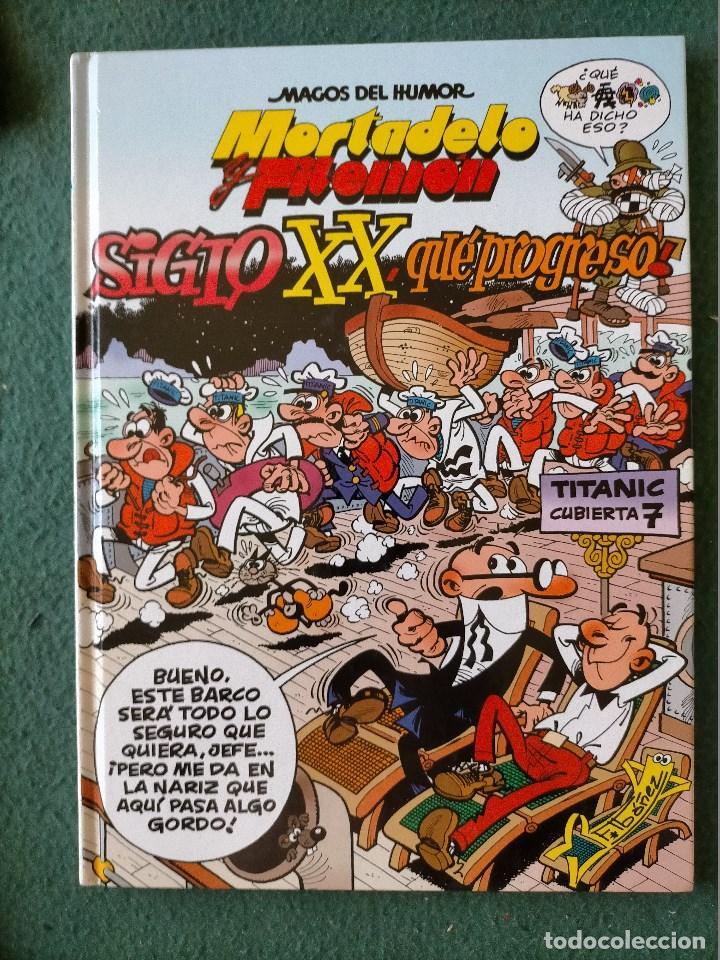 Cómics: MAGOS DEL HUMOR. 5 TOMOS, VARIOS 1ª EDICIÓN. MORTADELO Y FILEMÓN - Foto 6 - 213779445