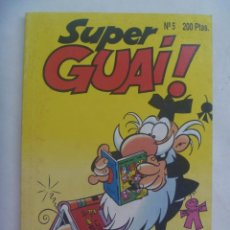 Cómics: SUPER GUAI ! , Nº 5 . EDICIONES B, 1991: JAN , IBAÑEZ, ETC. Lote 278570043