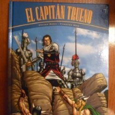 Cómics: CAPITAN TRUENO - TOMO TAPA DURA - VICTOR MORA Y FUENTES MAN *IMPECABLE*. Lote 213924035