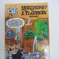 Comics: OLÉ!. Nº 81. MORTADELO Y FILEMÓN. DINOSAURIOS. EDICIONES B CX64. Lote 214233537