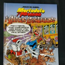 Comics : MAGOS DEL HUMOR - MORTADELO Y FILEMON - Nº 201 - FELICES FIESTAS - 1ª EDICION -. Lote 214320932