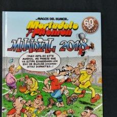Comics : MAGOS DEL HUMOR - MORTADELO Y FILEMON - Nº 188 - MUNDIAL 2018 - 1ª EDICION -. Lote 214355537