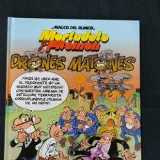 Comics : MAGOS DEL HUMOR - MORTADELO Y FILEMON - Nº 185 - DRONES MATONES - 1ª EDICION -. Lote 214355603