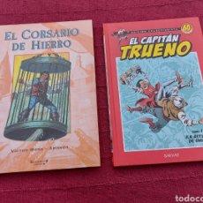 Cómics: EL CORSARIO DE HIERRO TOMO 1 -EL CAPITÁN TRUENO TOMO 1 LA ASTUCIA DE OMAR -VICTOR MORA-AMBRÓS. Lote 214449085