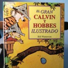 Cómics: EL GRAN CALVIN Y HOBBES ILUSTRADO 5/ BILL WATERSON/ EDICIONES B, 2000. Lote 214607701