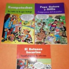 Cómics: EL BOTONES SACARINO, ROMPETECHOS & PEPE GOTERA Y OTILIO. EDICIONES B 2003. Lote 214644048