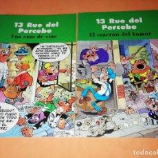 Cómics: 13 RUE DEL PERCEBE. UNA CASA DE CINE Y EL CASERON DEL HUMOR. EDICIONES B 2003. Lote 214644398