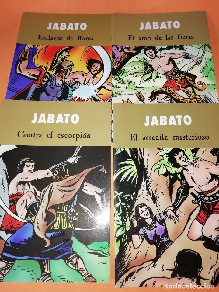JABATO. EDICIONES B 2003. 4 NUMEROS (Tebeos y Comics - Ediciones B - Clásicos Españoles)
