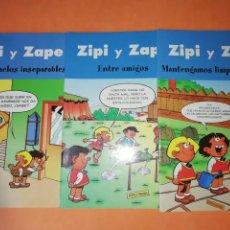 Cómics: ZIPI Y ZAPE. EDICIONES B 2003. 3 NUMEROS. Lote 214650545