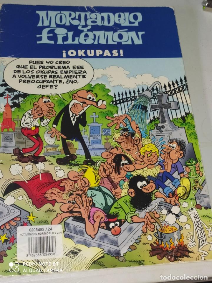 MORTADELA Y FILEMÓN. OKUPAS (Tebeos y Comics - Ediciones B - Clásicos Españoles)