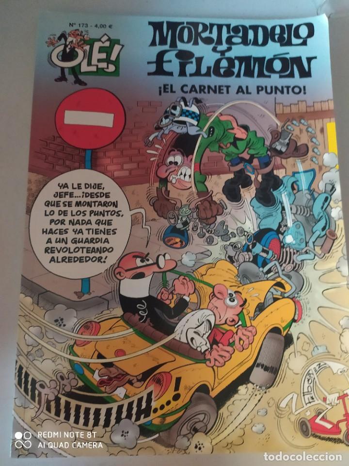 MORTADELA Y FILEMÓN.EL CARNET AL PUNTO. .OLE 173. 4 €. (Tebeos y Comics - Ediciones B - Clásicos Españoles)