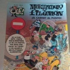 Cómics: MORTADELA Y FILEMÓN.EL CARNET AL PUNTO. .OLE 173. 4 €.. Lote 215283655