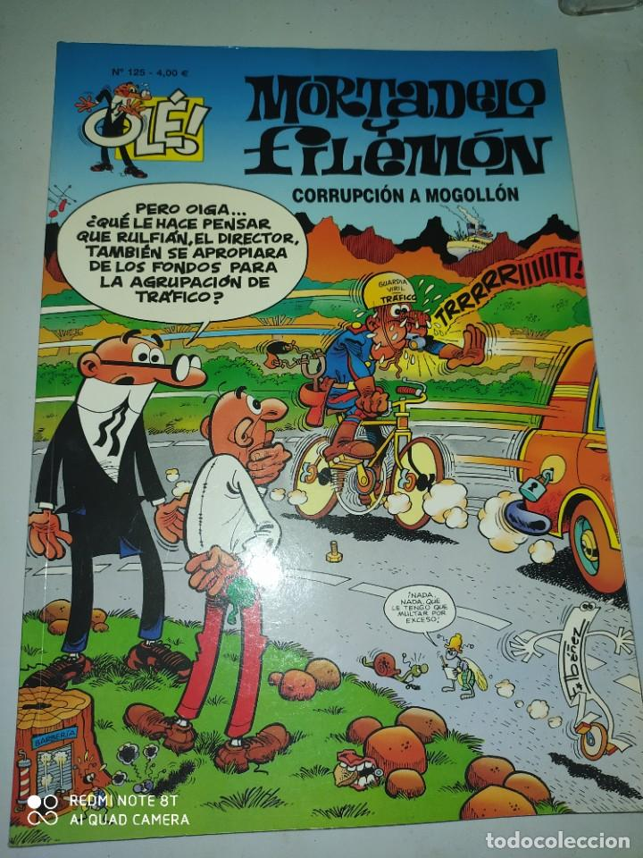 MORTADELA Y FILEMÓN.CORRUPCION A MOGOLLON .OLE 125. 4 €. (Tebeos y Comics - Ediciones B - Clásicos Españoles)